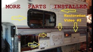 FREE 1999 Elkhorn Camper, more new parts & fixes (parts used below)