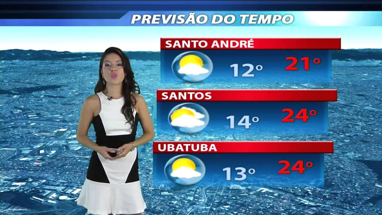Previsão Do Tempo Diário Do Grande Abc 24 05 2013 Youtube