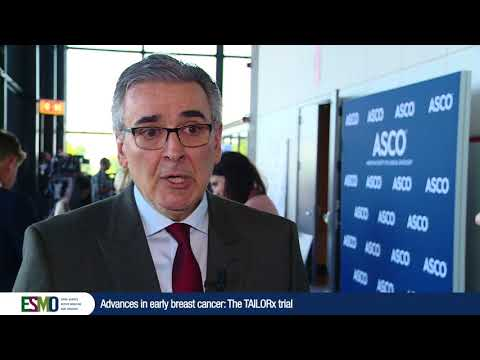Perspectives from ASCO 2018: Advances in early breast cancer - The TAILORx trial