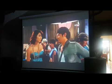 Dàn máy chiếu phim gia đình phù hợp cho hội họp nhà hàng hàt karaoke xem phim .bóng đá