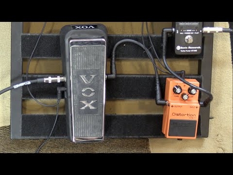 Does a Wah Pedal Sound Better Before or After Distortion?