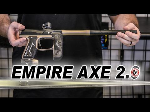 Empire Axe 2.0 vs Original Comparison & Efficiency Test | Lone Wolf Paintball Michigan