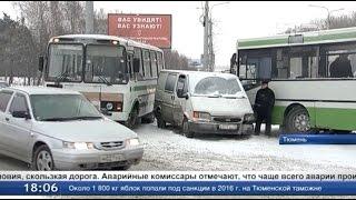 118 водителей автобусов нарушили ПДД с начала января