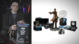 Watch Dogs Limited Edition Unboxing & Giveaway!