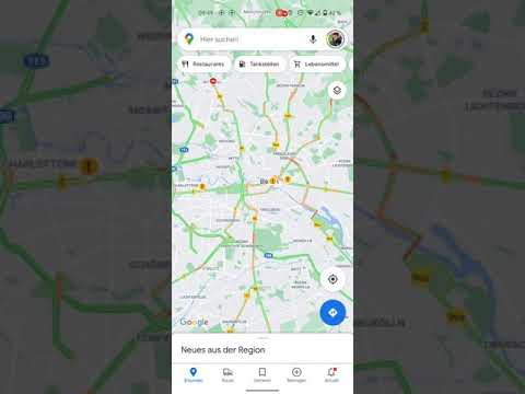 Google Maps: Haltestelle mit Fahrplan auf dem Homescreen ablegen