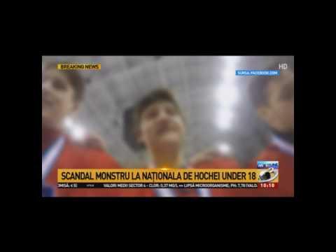 Imnul secuiesc cântat de jucătorii români de la Naționala de Hochei Under 18