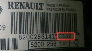 Get unlock code for your Renault radio free