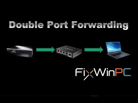 Double Port Forwarding (Double