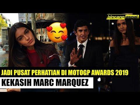 CERITA MOTOGP AWARDS 2019! Pesona kecantikan Lucia rivera, kekasih Marc marquez