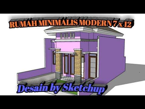 46 konsep top rumah minimalis 7 x 12