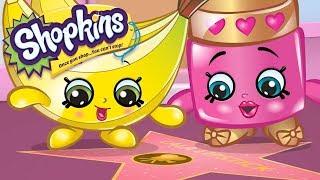 SHOPKINS Cartoon - WALK OF FAME   Cartoons For Children