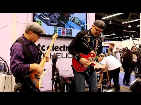 NAMM 2015 - TC ELECTRONIC - Greg Koch + Roscoe Beck (Song3)