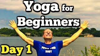 Day 1 - Morning Yoga - 7 Day Beginner Yoga Challenge #7dayyogachallenge