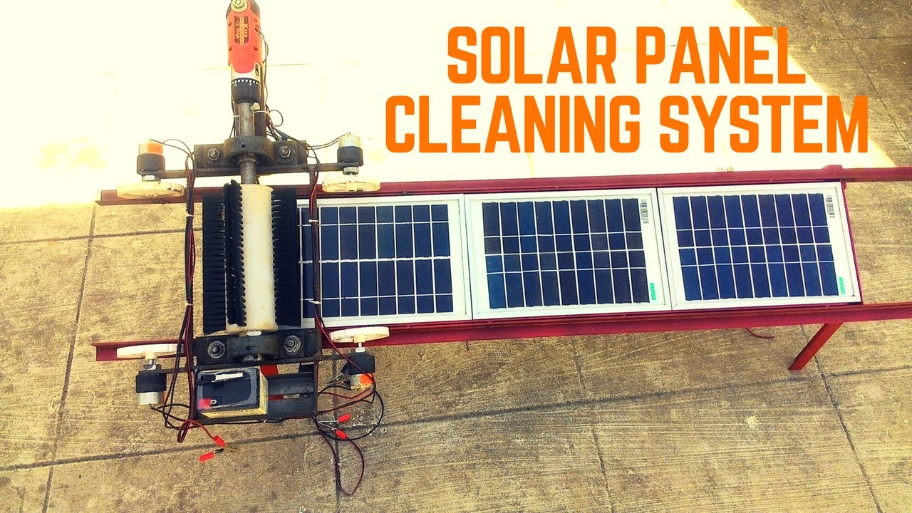 Automatic Solar Panel Cleaning System Final Year