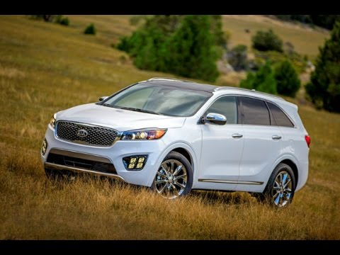 2016 kia sorento first look youtube. Black Bedroom Furniture Sets. Home Design Ideas