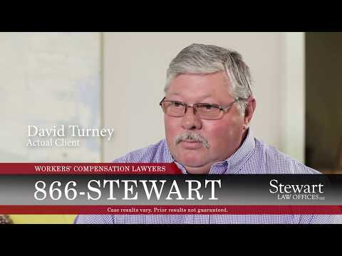 Stewart Law Offices Client Testimonial - David Turney