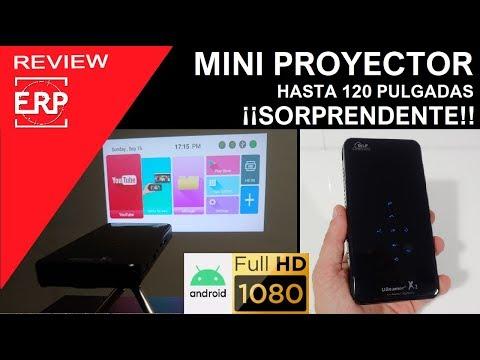 MINI Proyector SORPRENDENTE. Full HD / 120 pulgadas / Android 7