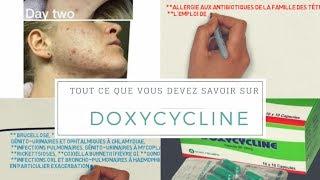 Doxycyline / Tout Ce Que Vous Devez Savoir Sur Ce Médicament ( est-il efficace contre l'acné !!)