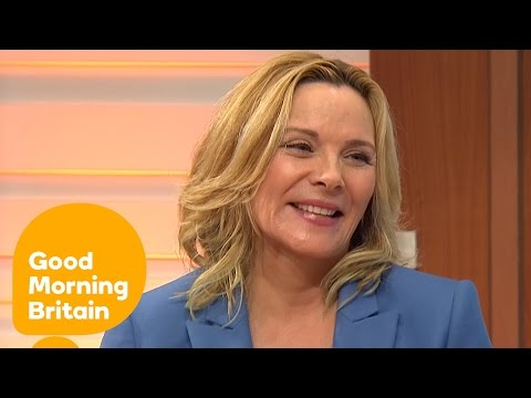 Kim Cattrall Leaves Piers Morgan Besotted!   Good Morning Britain
