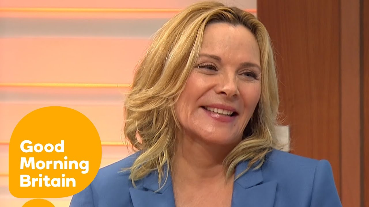 Download Kim Cattrall Leaves Piers Morgan Besotted! | Good Morning Britain