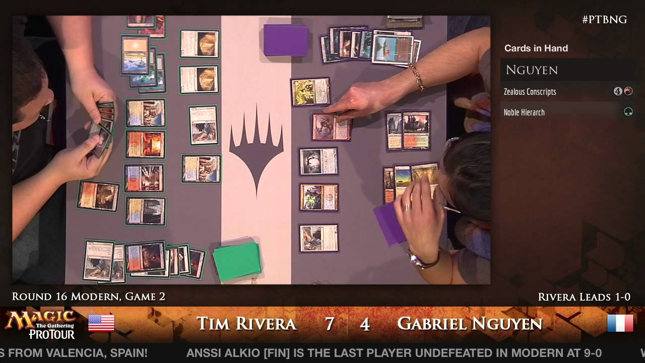 Pro Tour Born Of The Gods Youtube