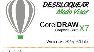 Desbloquear Modo Visor Corel Draw 7 - Solución