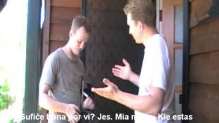 Filmeto: Mia unua kiso