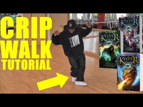 Dance Tutorial  How to C Walk Crip Walk
