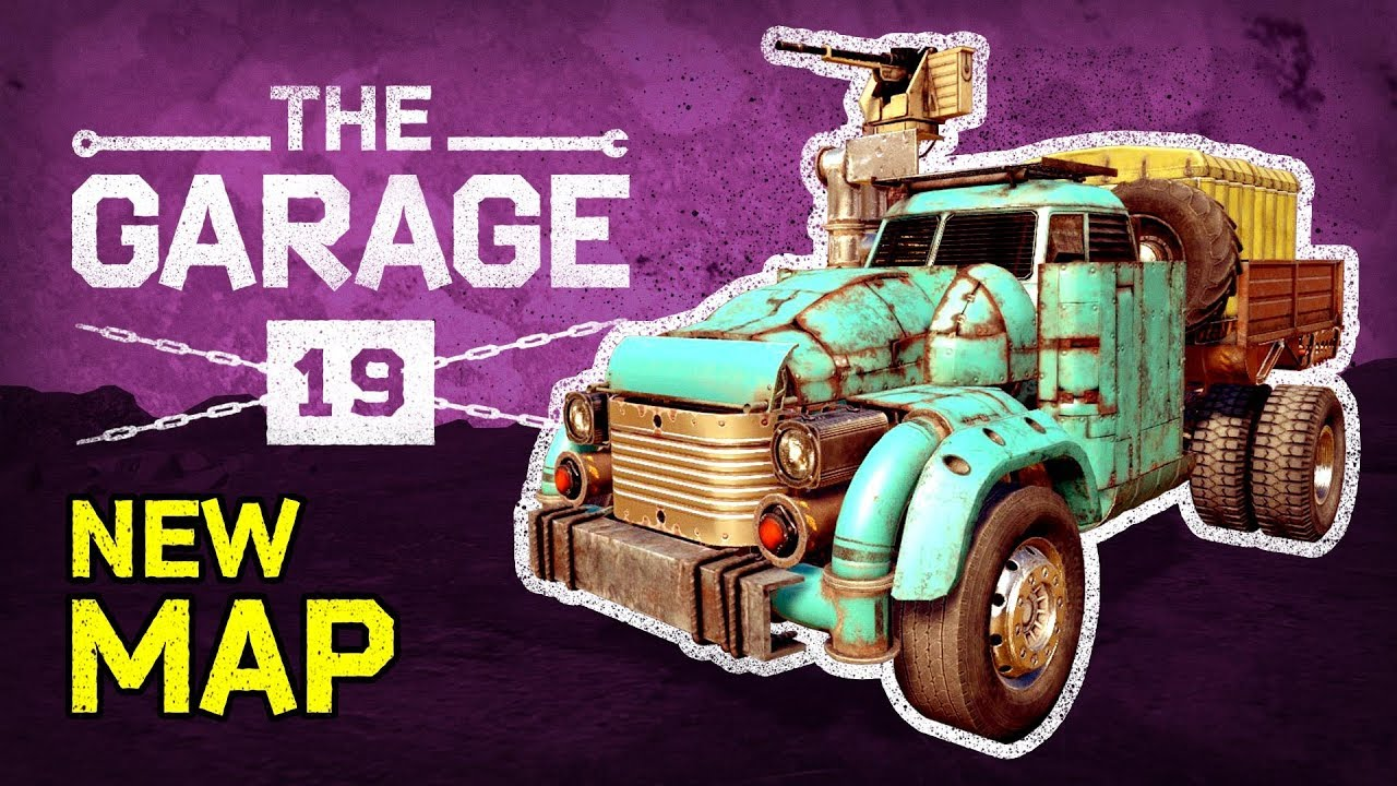Guide  Crossout The Garage       19  NEW MAP    Ex Machina style build      Guide  Crossout The Garage       19  NEW MAP    Ex Machina style build  scrap  on the market