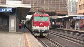 InterCity 504 RYSY v železničnej stanici Poprad-Tatry