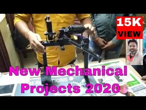 Latest Mechanical Final Year Students Low Cost Project 2020: Automatic Stand for Handicaps Bike