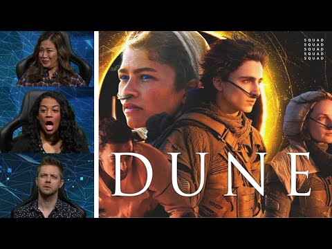 The SQUAD Reacts to Dune (2020) Movie Trailer: Timothée Chalamet, Zendaya, Josh Brolin and more!
