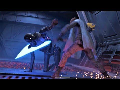Starwars : Jedi Fallen Order - Combat Gameplay & Force Moments