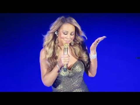 Mariah Carey Writes a New Christmas Song  at the Beacon Theatre on Dec 17th, 2015