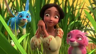 Елена - Принцесса Авалора - 04 - Приключения в Звёздной долине: Танцы кролинов | мультфильм Disney