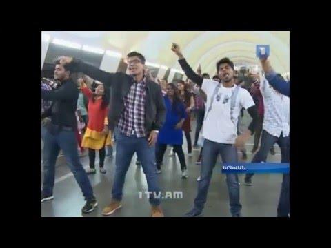 India in Yerevan Metro/ Հնդկաստանը Երևանի մետրոպոլիտենում- Առաջին լրատվական