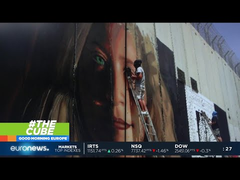 #TheCube | Italian artist was arrested after painting a gian