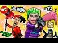 Lets Build & Play LEGO Dimensions #12: GLITCHY JOKER CHASE & Harley Quinn Steals a Slurpie Slushie!