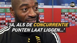 """Reactie Vermeer na Feyenoord - Sparta: """"We moeten deze wedstrijd winnen"""""""