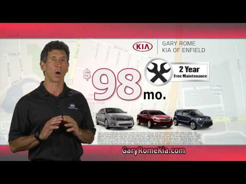 $98 Leases at Gary Rome Kia in Enfield, CT