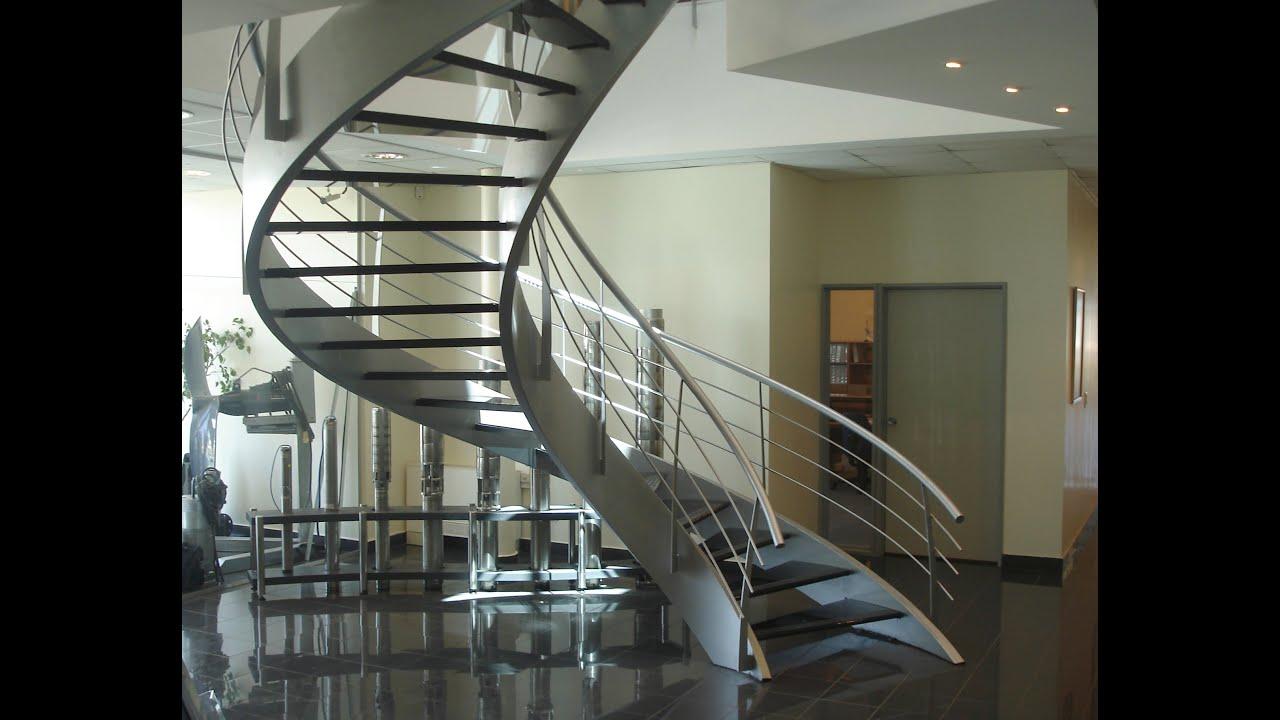 Una muestra de escaleras y barandas eleve estilos - Barandales modernos para escaleras ...
