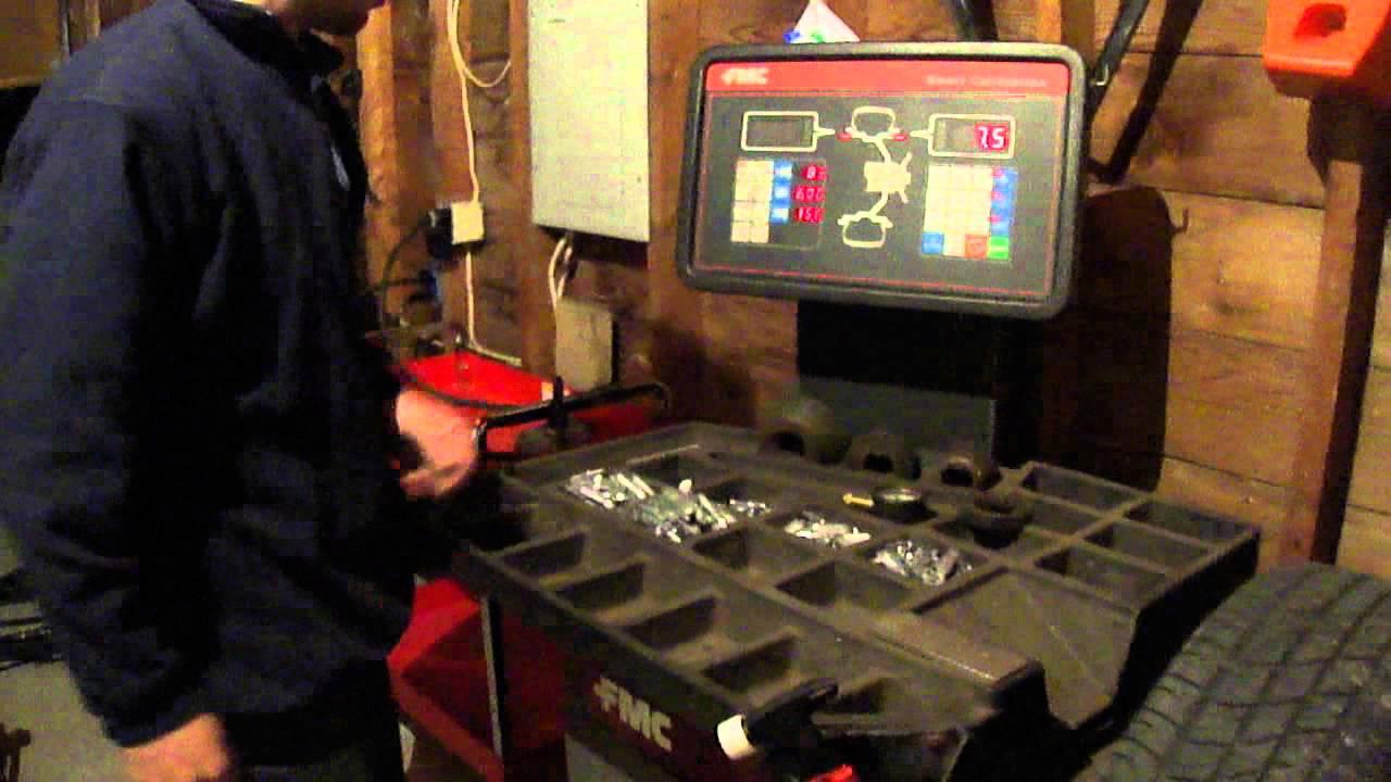 fmc 4100 wheel balancer manual