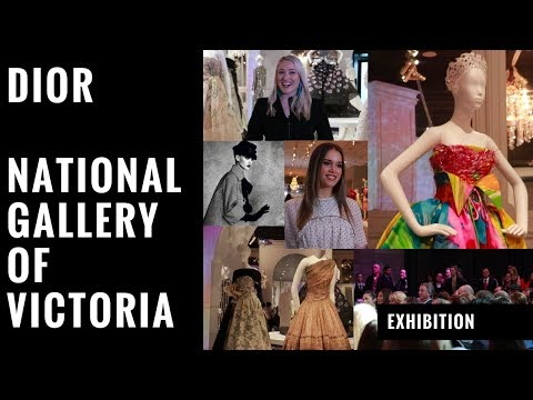EXHIBITION: The House of Dior at NGV, 2017