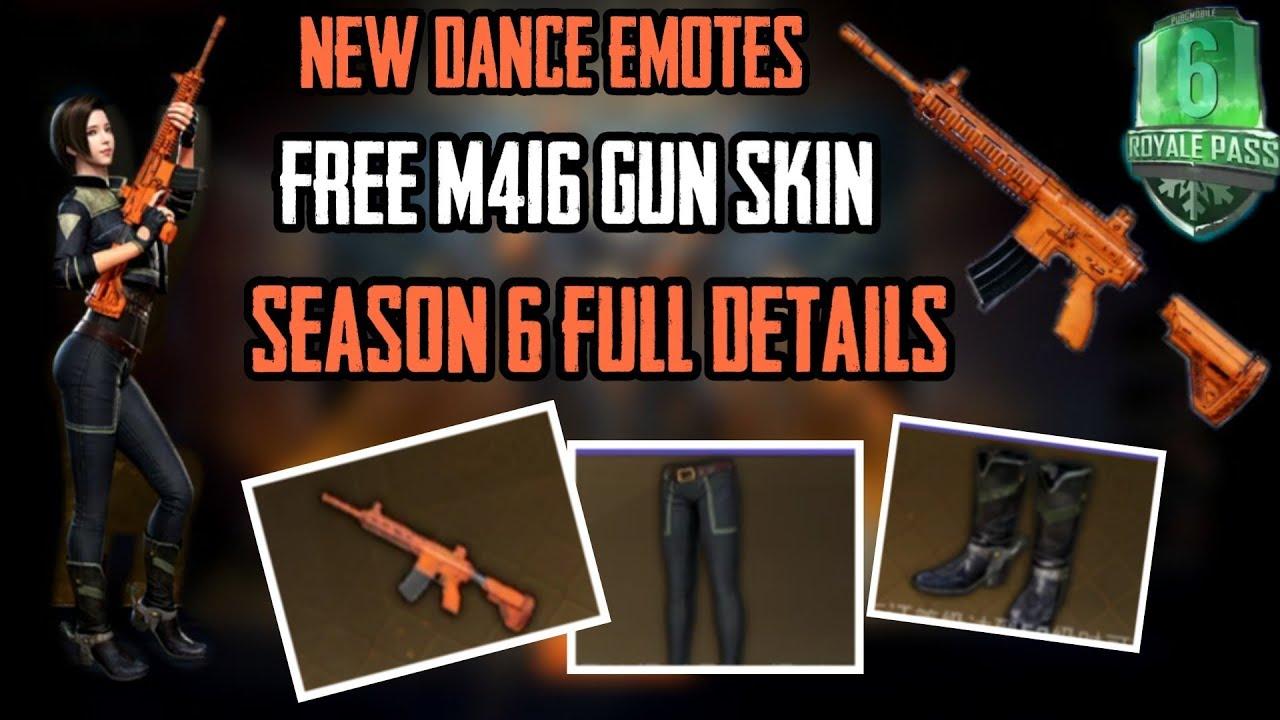 SEASON 6 PUBG MOBILE – Free gun skins pubg mobile | Pubg Updates