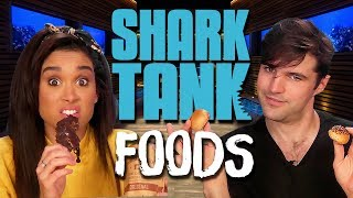 Testing Shark Tank Foods! (Cheat Day)