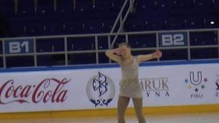 Дарья Сиротина ЧРК 2016, КП, 5 лет на льду