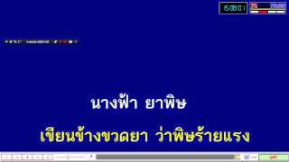 นางฟ้าหรือยาพิษ - ไหมไทย หัวใจศิลป์ [Karaoke]