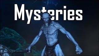 Skyrim - 5 Unexplained and Strange Mysteries - Elder Scrolls 5 Secrets