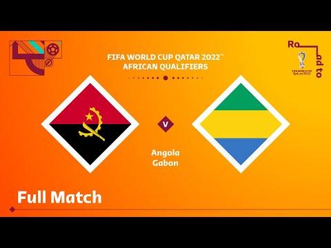 Angola v Gabon | FIFA World Cup Qatar 2022 Qualifier | Full Match