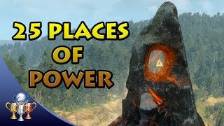 The Witcher 3 - ALL Places of Power in White Orchard, Velen, Novigrad, Skellige &  Kaer Morhen